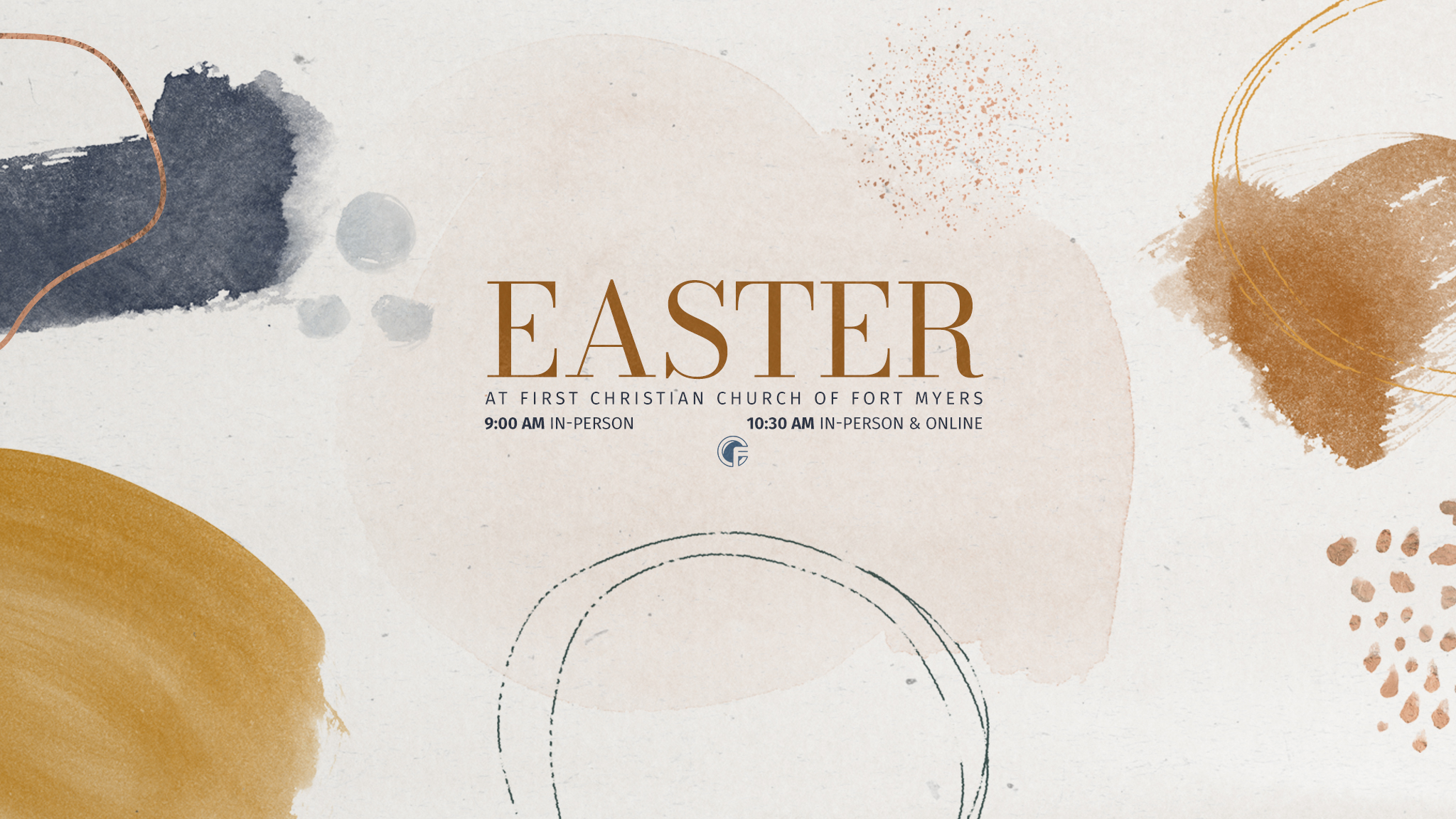 Easter Services 9:00 & 10:30 AM